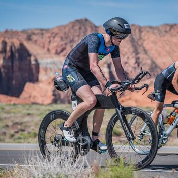 St. George 70.3, climbing up Snow Canyon!!
