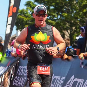 Ironman Maine 70.3 2019 Finish