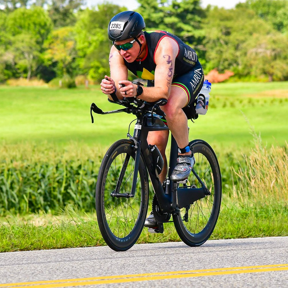 Ironman 70.3 Maine 2019 Bike - Brian Schwind