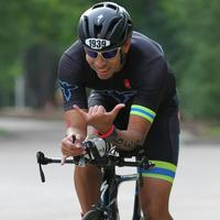 Having some fun on the bike at IMTX